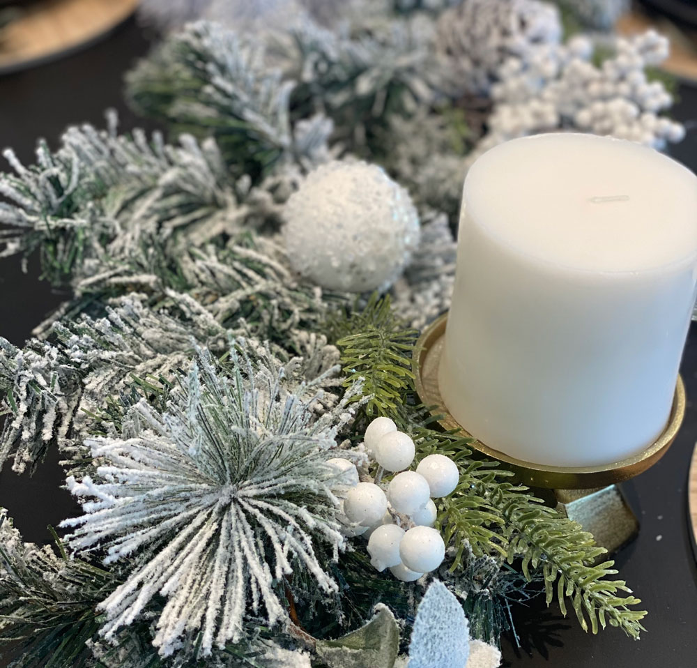 Candle for Christmas Decoration